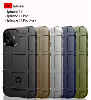 Iphone 11 11 Pro Iphone 11 Pro Max Rugged Shield Thick TPU Shockproof Case Cover Airbag Casing Housing