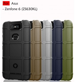 Asus Zenfone 6 Zenfone 6Z ZS630KLRugged Shield Thick TPU Shockproof Case Cover Airbag Camera Lens Casing Housing