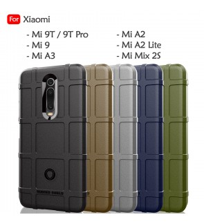 Xiaomi Mi A2 Lite Mi A3 Mi Mix 2S Mi 9 Mi 9T Pro Rugged Shield Thick TPU Shockproof Case Cover Airbag Casing Housing