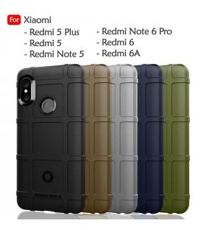 Xiaomi Redmi 5 Plus Redmi Note 5 6 Pro Redmi 6 6A Rugged Shield Thick TPU Shockproof Case Cover Airbag Casing Housing