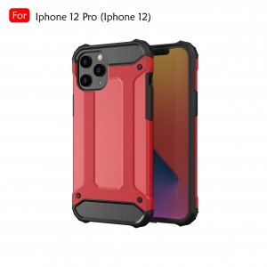 Iphone 12 Pro Max Iphone 12 Mini Rugged Armor Protection Case Cover Hard Casing Shockproof Housing