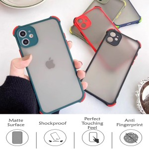 Iphone 12 Mini Iphone 12 Pro Max Phantom Shockproof Protection Case Housing Silicone Hard Back Cover Casing Camera