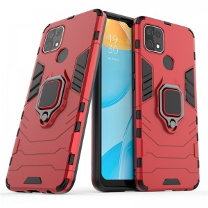 Oppo A15 Car Holder Back Case Cover Shockproof Protection Casing Housing