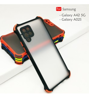 Carristo Samsung Galaxy A42 5G A02S Phantom Shockproof Case Housing Hard Back Cover Casing