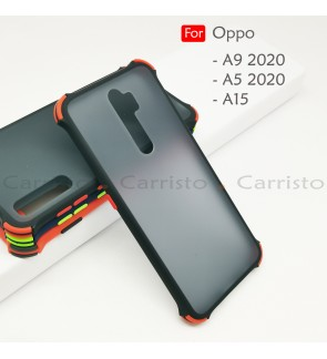 Oppo A9 2020 A5 2020 A15 A15S Bogey Shockproof Case Housing Hard Back Cover Casing
