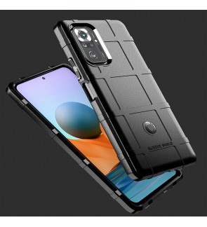 Xiaomi Redmi Note 10 Note 10 Pro Poco F3 Rugged Shield Thick TPU Shockproof Case Cover Casing Phone Mobile Housing