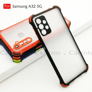 Samsung Galaxy A32 4G A32 5G A52 A72 Phantom Shockproof Case Housing Silicone Hard Back Cover Phone Mobile Casing