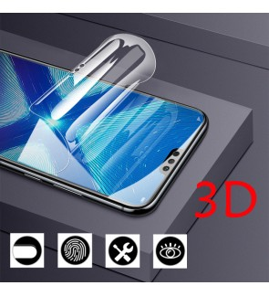 Anti Blueray Xiaomi Poco F3 Mi 11 Lite Nano Hydrogel Shield Soft Silicone Anti finger print Screen Protector Guard
