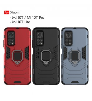 Xiaomi Mi 10T 10T Pro Mi 10T Lite Car Holder Back Case Cover Shockproof Protection Casing Phone Mobile Housing Iring