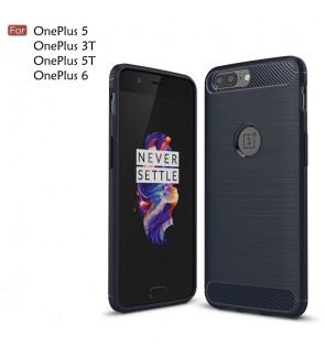 OnePlus 5T OnePlus 3T 5 One Plus OnePlus 6 Brushed TPU Soft Case Casing Cover
