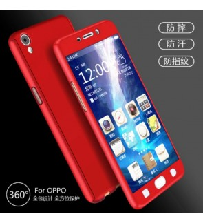 Oppo Neo 9 A37 A77 Neo 7 R7S 360 Full Cover Case With Tempered Glass