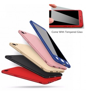 OnePlus 5 One Plus 3T 360 Full Cover Case With Tempered Glass