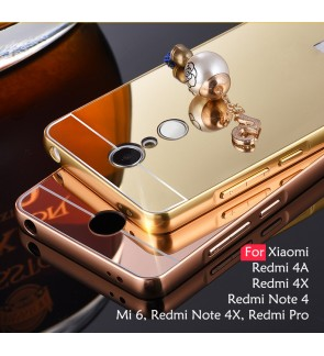 Xiaomi Mi 6 Redmi 4A Note 4 4X Redmi 4X Redmi Pro Mirror Cover Case Casing