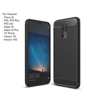 Huawei Y7 Prime Honor V10 7X P10 Plus Lite Nova 2i Mate 10 Pro Case Cover Casing
