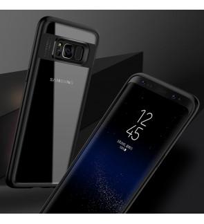 Samsung Galaxy J3 J5 J7 2015 2017 S7 Edge Transparent Case Cover Casing