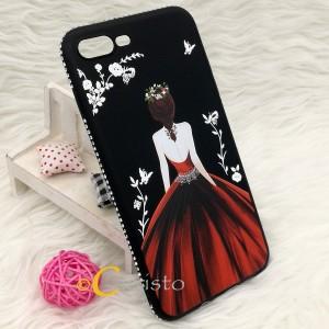 Iphone 8 Plus Iphone 7 Plus Iphone 6 6S Plus Secret Garden Soft Case Casing