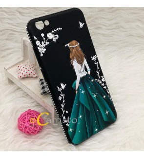 Vivo V5 V5S Y55 Y51 Secret Garden Soft Case Casing