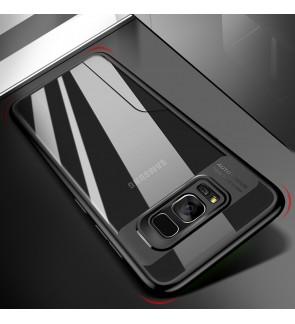 Samsung Galaxy A8 Plus 2018 Transparent Case Cover Casing Hard Housing