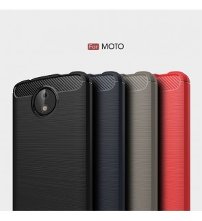Motorola Moto M C Plus G5S Plus E4 Plus Brushed Silicone Soft Case Cover Casing