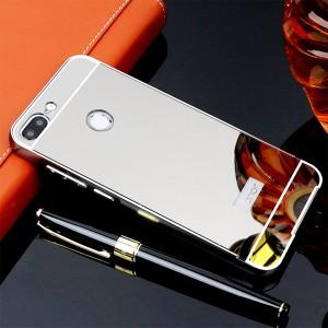 Huawei P20 Mirror Aluminium Metal Bumper Case Cover Casing Housing