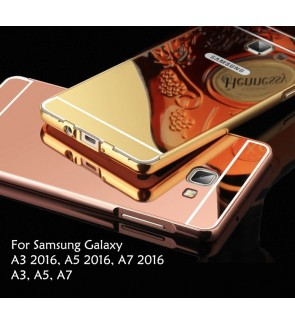 Samsung Galaxy A3 A5 A7 2016 2015 Mirror Cover Case Casing