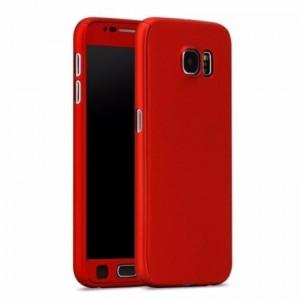 Samsung Galaxy J7 J5 J2 Prime A7 A5 2017 360 Full Cover Case Tempered Glass