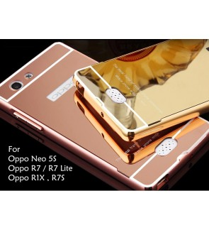 Oppo R7 Lite Neo 5S R1X R7S Mirror Cover Case Casing Housing