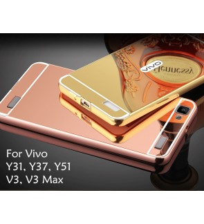 Vivo V3 V3 Max Vivo Y31L Y31 Y51 Y37 Mirror Cover Case Casing Housing