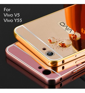 Vivo V5 X9 Vivo Y55 Y66 Mirror Cover Case Casing Housing