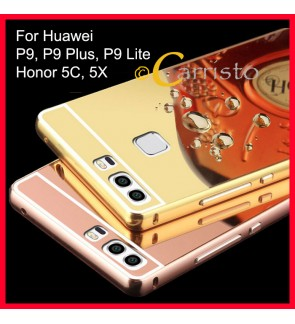 Huawei P9 Lite Huawei P9 Plus Honor 5X Honor 5C Mirror Case Casing Housing