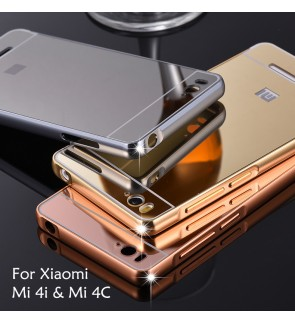 Xiaomi Mi 4i Redmi 2 Mirror Cover Case Casing Housing