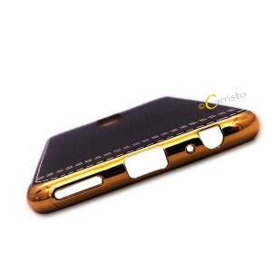 Huawei Nova 2i Honor 7X Plating leather case Cover Casing Housing