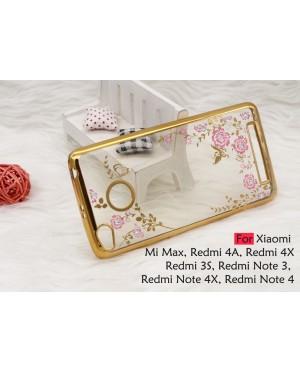 Plating Secret Garden Case for Xiaomi Redmi Note 4