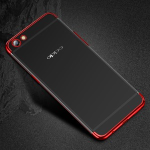 Oppo F1S R9S A77 A57 Electroplate Plating TPU Soft Case Cover Casing Housing