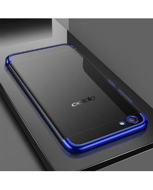 Oppo R15 Pro F7 Youth Electroplate Plating TPU Soft Case Cover Casing Housing
