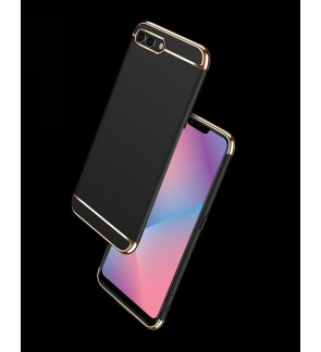Oppo F7 R15 Pro A3S 3 in 1 Hard Case Cover Casing