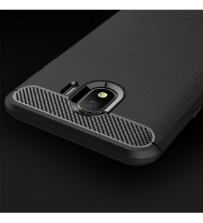 Samsung Galaxy A6 Plus J4 J6 Plus J4 Plus Brushed TPU Soft Case Cover Casing