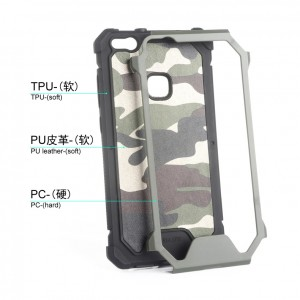 Huawei P10 P10 Lite Mate 20 Pro Military Army Case Casing Cover Housing Camo