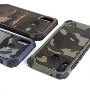 Huawei P20 Nova 2i Nova 3E Military Camo Army Case Casing Cover Housing
