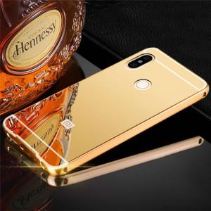 Xiaomi Redmi 6 Bumper Case Cover Casing Mirror Metal