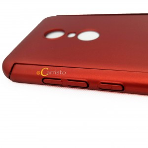Xiaomi Redmi 5 Plus Redmi 6 360 Degree Full Cover Case With Tempered Glass
