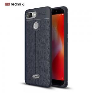 Xiaomi Mi A2 Lite Redmi 6 6A TPU Leather Soft Case Cover Casing