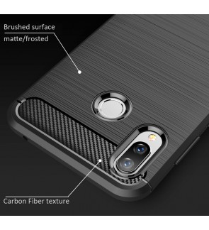 Huawei Honor Play Honor 8X Honor 10 Lite Soft Case Cover Casing Brushed TPU