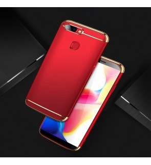 Oppo F9 3 in 1 Hard Case Cover Casing