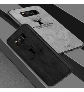 Samsung Galaxy Note 9 S9 Plus S8 Plus S7 Edge Deer Soft Case Cover Casing