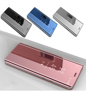 Vivo V11 V11i Mirror Flip Pouch Case Cover Casing Housing