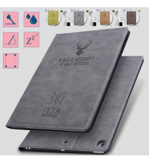 Ipad 10.2 2019 Ipad 7 Mini 5 1 2 3 4 Air 2 Ipad 9.7 Ipad 6 2018 Fabric Deer Case Cover Casing Flip Pouch
