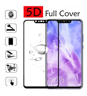 Samsung Galaxy A9 A7 2018 J4 Plus J6 Plus 5D Tempered Glass Screen Protector