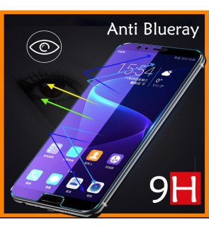 Oppo F7 A83 A3S Oppo A7 Anti Blueray Full Tempered Glass Screen Protector