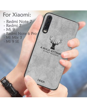 Xiaomi Redmi Note 6 Pro Note 7 Redmi 7 Mi 9 SE Mi Mix 3 Case Cover Casing Deer Soft
